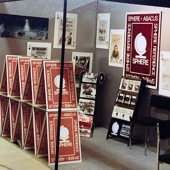 Brighton Booksellers Association stand for Sphere Books