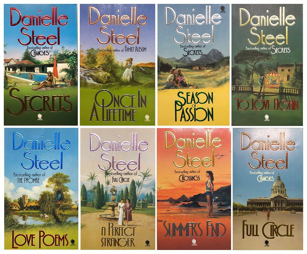 8 Danielle Steel covers