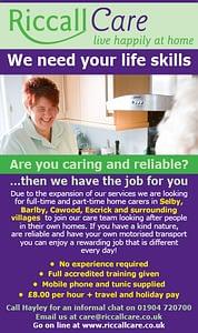 Recruitment ad - MAR_2015_ST.indd