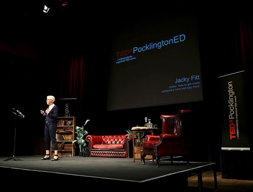 Jacky Fitt at TEDx Pocklington 2015